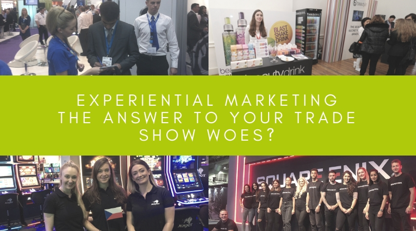 Experiential Marketing: The Answer to Your Trade Show Woes?