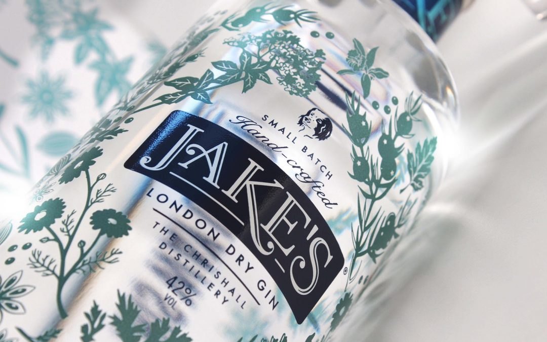 Exquisite packaging design for hand-made, small batch gin