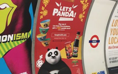 Design agency Magnetic London's campaign identity for the Let's Panda Campaign