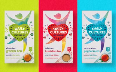 An invigorating new identity for gut health brand Daily Cultures