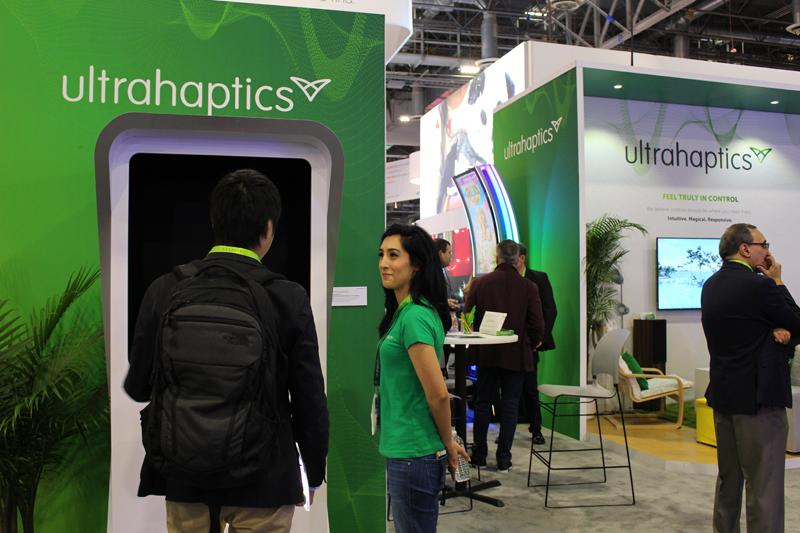 Next-generation interactive technology for Ultrahaptics exhibition display