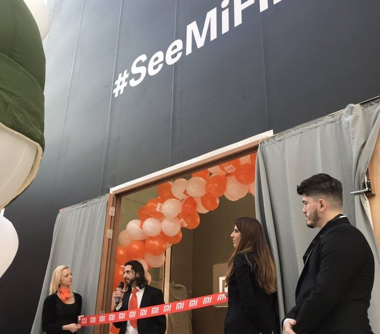 Xiaomi UK Event Staff at Westfield Store Launch