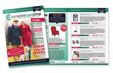 16 page Catalogue mailing uses AI
