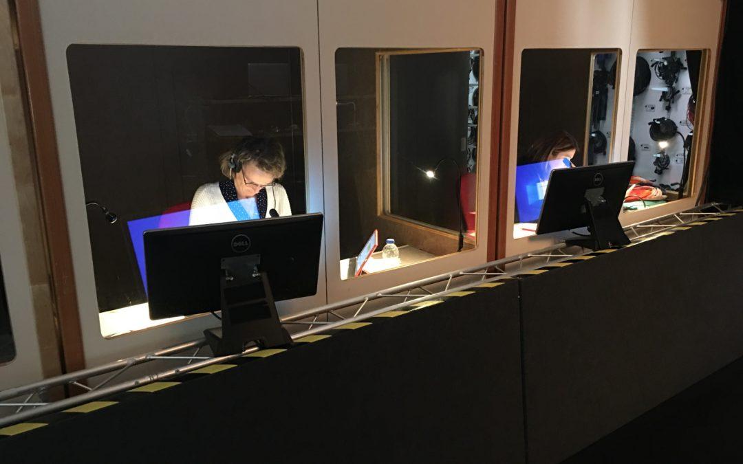 AVD provide language interpretation to webinars