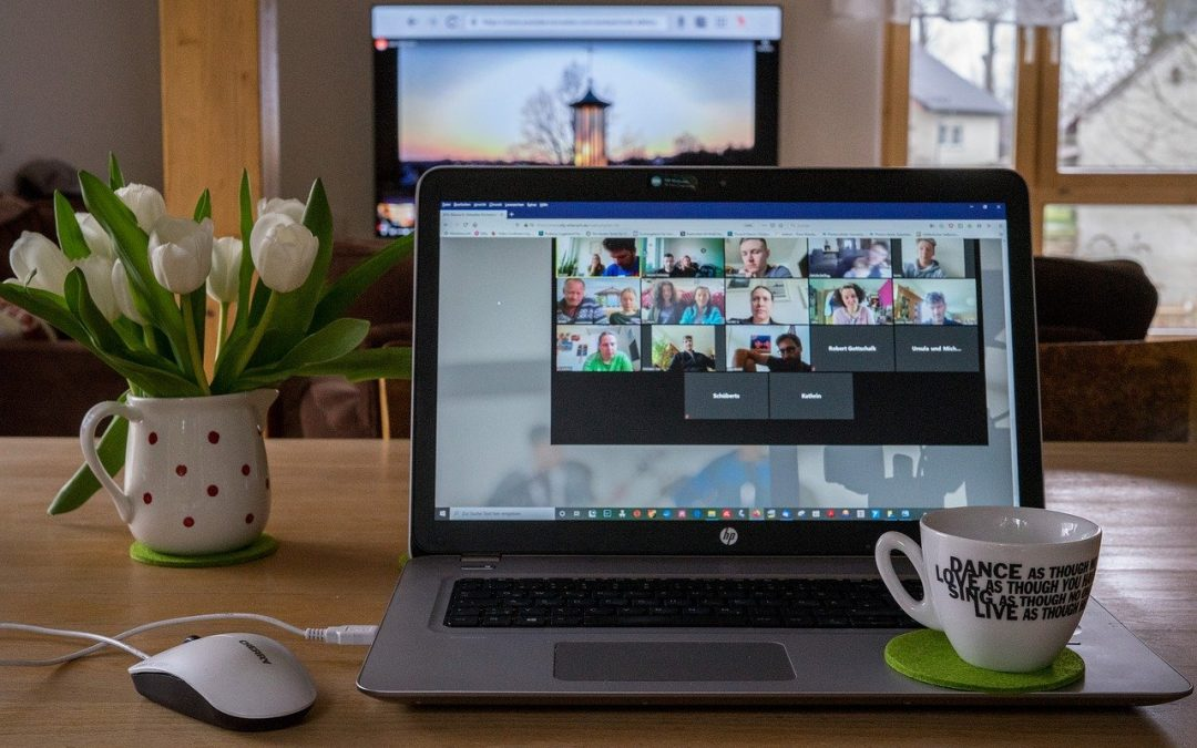 Staying connected with virtual events