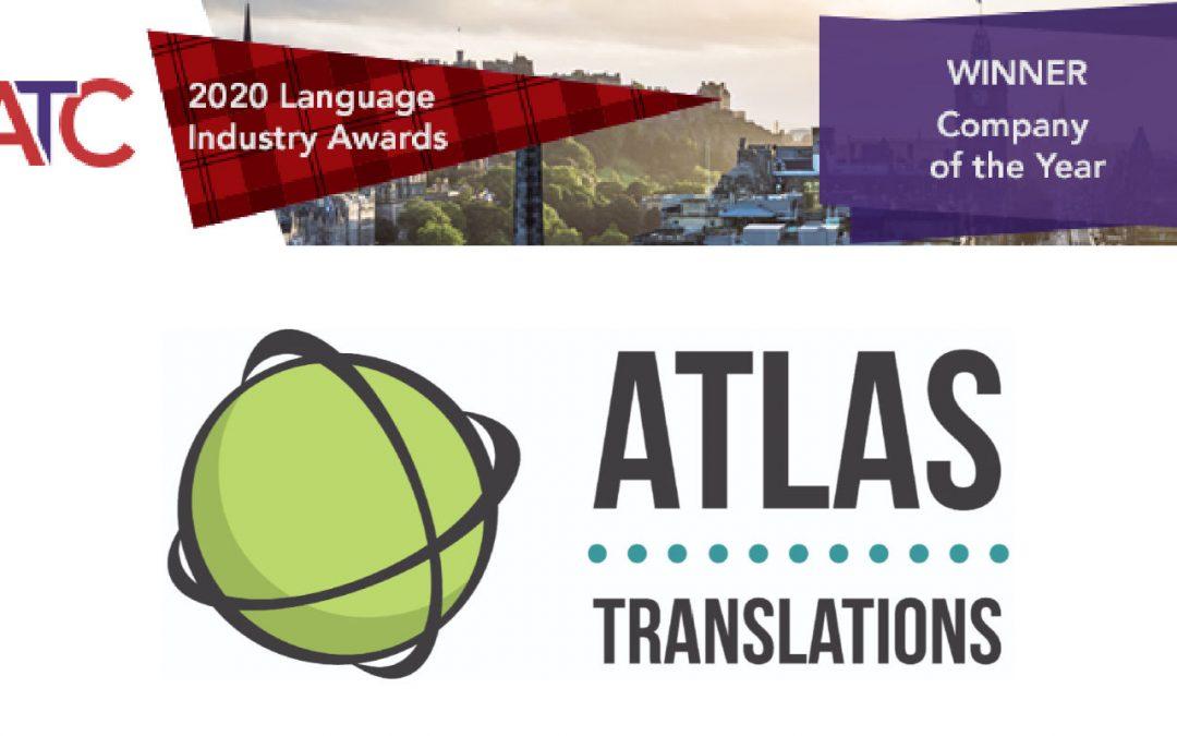 Atlas Translations succeeds at ATC Awards 2020