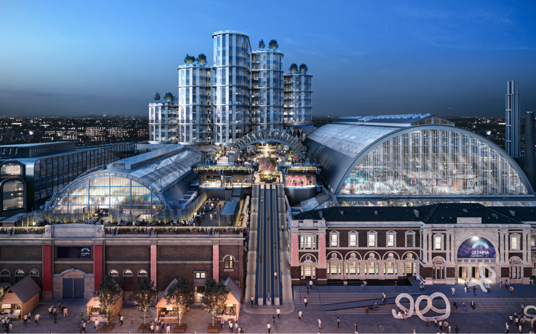 How the Olympia London is being transformed